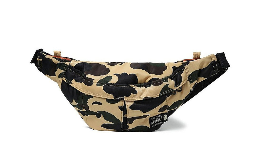 BAPE Taps PORTER for Collaborative Camouflage Accessories