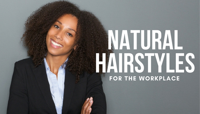 5 Natural Hairstyles Perfect For Work