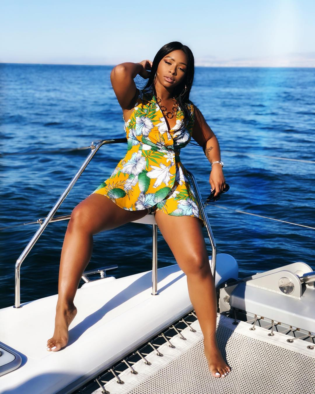 New Year Vibes! South African Star, Boity Thulo Enjoys