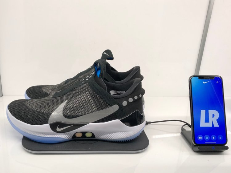 f35bfa732304 VIDEO! Nike reveals   350  self-lacing sneakers you can control with your  phone