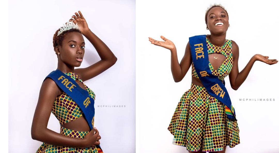 Pics Winner Of Ghana High School Fashion Week Is Serving Face In Her Diadem